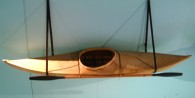 kayak from Arktikum museum, Rovaniemi