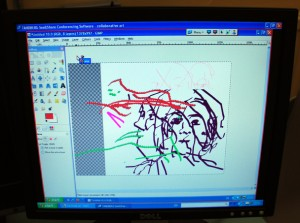 Interactive Drawing workshop 2010